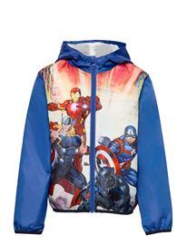 Marvel Sublime Wind Cup Outerwear Jackets & Coats Windbreaker Sininen Marvel BLUE