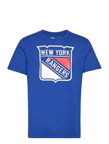 Fanatics New York Rangers Value Essentials T-Shirt T-shirts Short-sleeved Sininen Fanatics ROYAL