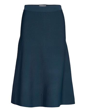 Nä¼mph Nubevin Skirt Polvipituinen Hame Sininen Nä¼mph MOONLIT