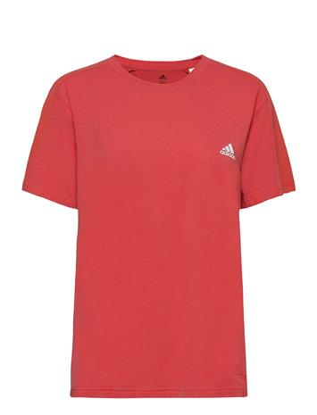 adidas Performance Designed To Move Aeroready T-Shirt W T-shirts & Tops Short-sleeved Punainen Adidas Performance CRERED/WHITE