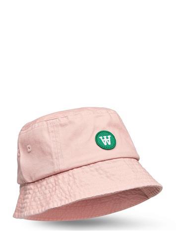 Wood Wood Val Kids Bucket Hat Accessories Headwear Sun Hats Vaaleanpunainen Wood Wood ROSE