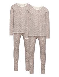 Mini A Ture Yasha Set Gots 2 Pack, K Pyjamasetti Pyjama Liila Mini A Ture MULTICOLOR