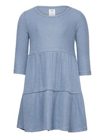 GAP Kids Softspun Tiered Dress Mekko Sininen GAP BAINBRIDGE BLUE
