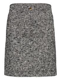 Boutique Moschino Boutique Moschino Skirt Polvipituinen Hame Harmaa Boutique Moschino BLACK FANTASY PRINT
