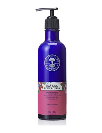 Neal's Yard Remedies Wild Rose Body Lotion Beauty WOMEN Skin Care Body Body Lotion Nude Neal's Yard Remedies NO COLOUR