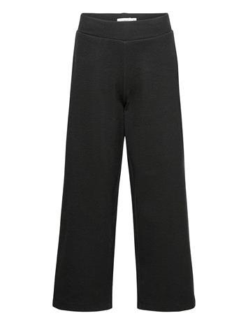 name it Nkfsilya Wide Pant Outerwear Fleece Outerwear Fleece Trousers Musta Name It BLACK