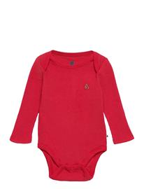 GAP Baby Mix And Match Bodysuit Bodies Long-sleeved Punainen GAP MODERN RED 2