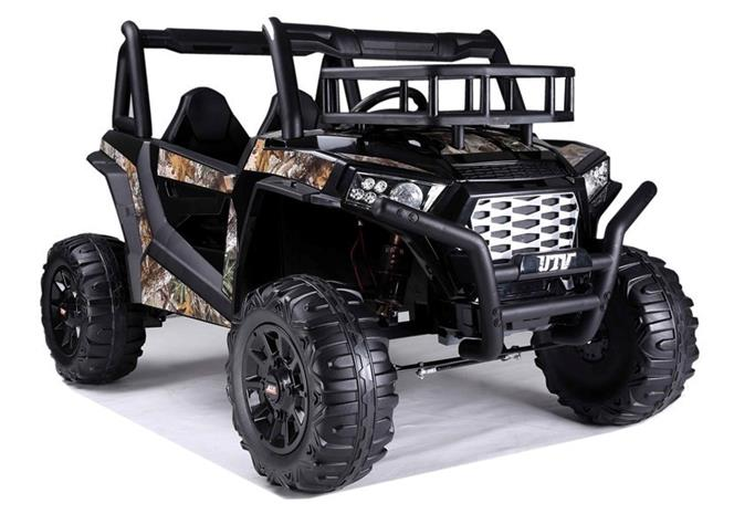 Buggy JS360 Lasten sähköauto, musta