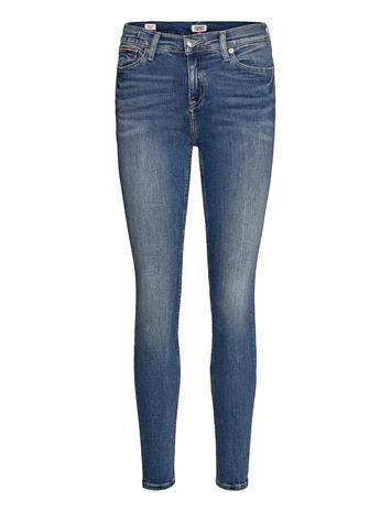 Tommy Jeans Mid Rise Skinny Nora Rbst Skinny Farkut Sininen Tommy Jeans ROYAL BLUE STRETCH