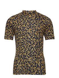 name it Nkftaaibah Ls Slim Top Box T-shirts Short-sleeved Sininen Name It DARK SAPPHIRE