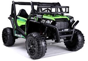 Buggy JS360 lasten sähköauto, vihreä