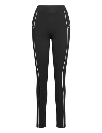 Gina Tricot Aspen Leggings Leggingsit Musta Gina Tricot BLACK (9000)