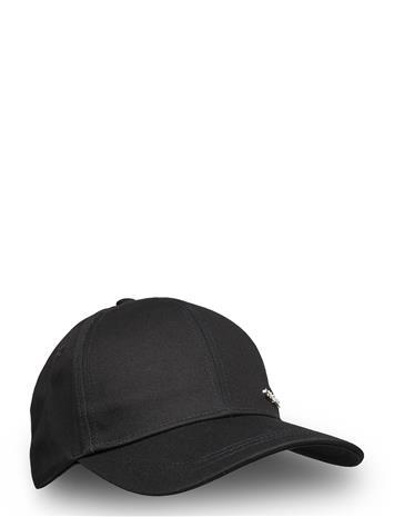 Calvin Klein Metal Letter Bb Cap Accessories Headwear Caps Musta Calvin Klein BLACK