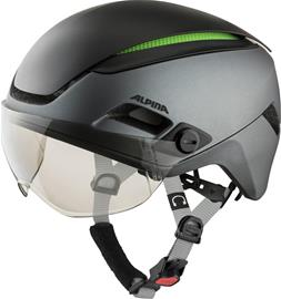 Alpina Altona VM Helmet, charcoal/anthracite matt