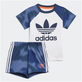 adidas Camo Print Shorts and Tee Set