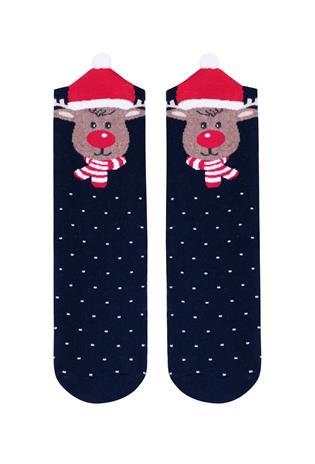 STEVEN Socks Christmas navy 096-021 26-28