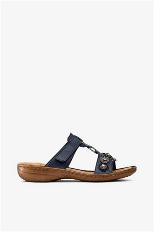 Rieker Strassisomisteiset sandaalit, pistokasmalli