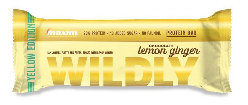 Maxim Wildly Chocolate Lemon Ginger 55 g proteiinipatukka