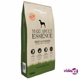 "vidaXL Premium koiranruoka """"Maxi Adult Essence Beef & Chicken"""" 15 kg"