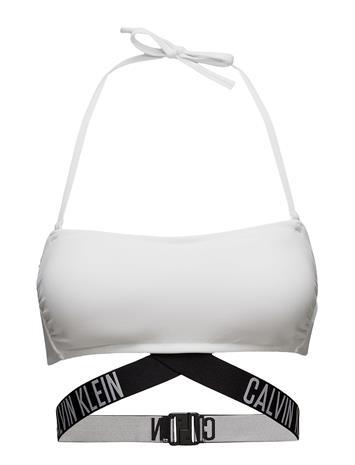 Calvin Klein X Bandeau-Rp Swimwear Bikini Tops Valkoinen Calvin Klein WHITE