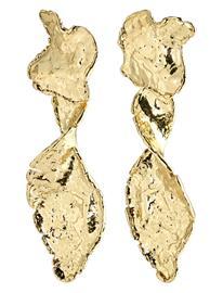 Pilgrim Earrings Compass Gold Plated Korvakoru Korut Kulta Pilgrim GOLD PLATED