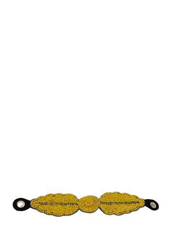 PIPOL'S BAZAAR Fogli Bracelet Yellow Accessories Jewellery Bracelets Bangles Keltainen PIPOL'S BAZAAR YELLOW