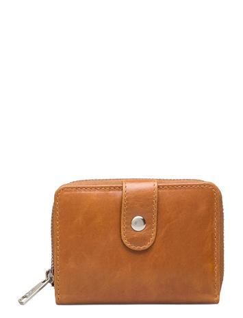 Adax Salerno Wallet Aisa Bags Card Holders & Wallets Wallets Ruskea Adax COGNAC