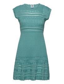 M Missoni M Missoni-Dress Lyhyt Mekko Sininen M Missoni DUSTY TURQUOISE