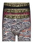 Frank Dandy 3-Pack Waves & Snakes Boxer Bokserit Frank Dandy BLACK/RED/BLACK