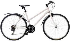 """Nakamura X-Rider 28"""", 21-vaiht. naisten hybridipyörä"""