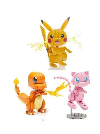 Mega Bloks Medium Pokemon Asst of 3