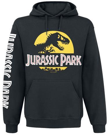 Jurassic Park - Logo - Huppari - Miehet - Musta