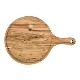 Leikkuulauta / tarjotin HARD WOOD D28.5x1.5cm, akaasia