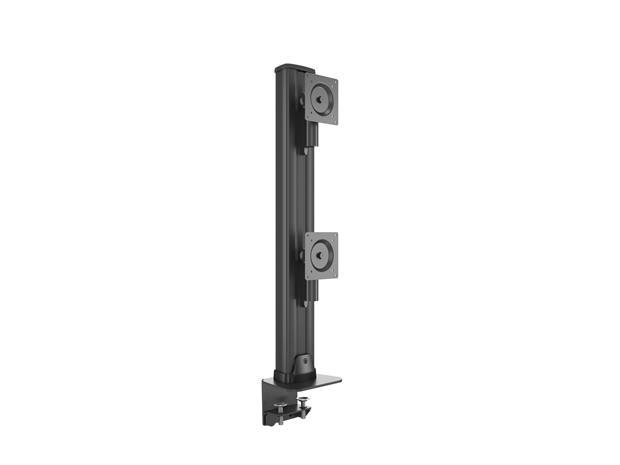 "Multibrackets M VESA Deskmount HD Dual Vertical Widescreen, pöytäteline kahdelle 32-50"" / max 24 kg näytölle"