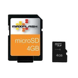 MicroSD 4 GB, muistikortti
