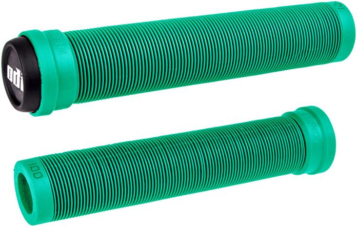 ODI Longneck SLX Flangeless BMX Grips, mint