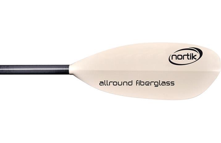 nortik Allround Fiberglass Mela 230cm 4-osainen, white