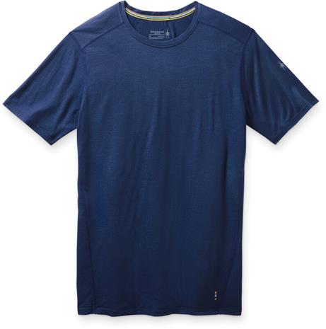 Smartwool Merino 150 Baselayer Short Sleeve Shirt Men, indigo blue