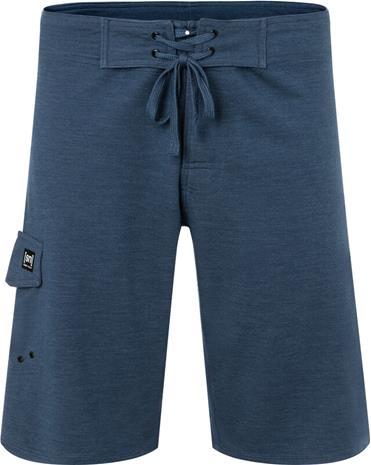 super.natural All Day Shorts Men, dark denim melange/silver grey