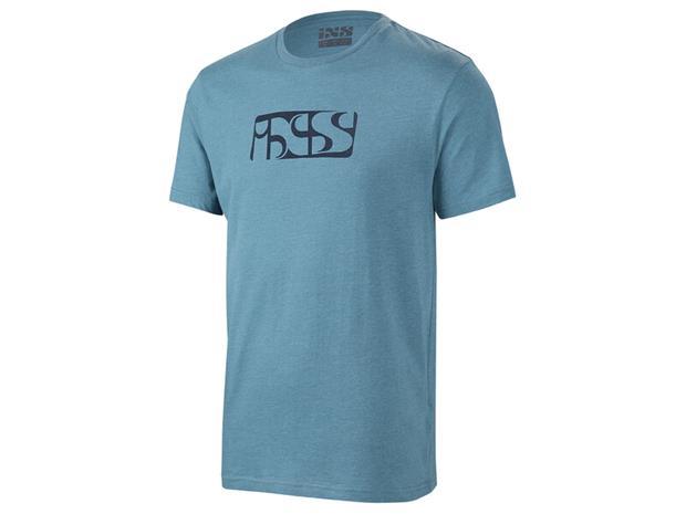 IXS Brand Tee T-paita Miehet, ocean