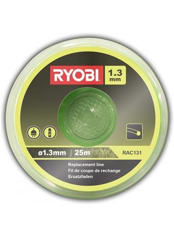 Leikkuulanka Ryobi RAC131; 1,3 mm/25 m; pyöreä