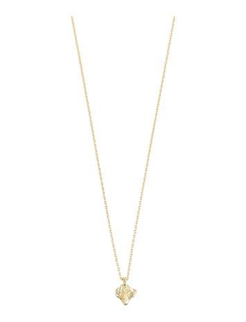 Pilgrim Necklace Simplicity Gold Plated Accessories Jewellery Necklaces Dainty Necklaces Kulta Pilgrim GOLD PLATED
