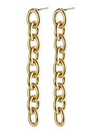 Pilgrim Earrings Heritage Gold Plated Korvakoru Korut Kulta Pilgrim GOLD PLATED