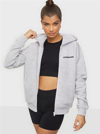 Better Bodies Core Zip Hoodie Melange