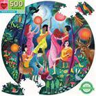 eeBoo - Round Puzzle - Moon Dance, 500 Pc (EPZFMND)