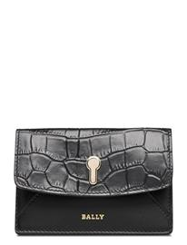 Bally Carly W.Cf/470 Bags Card Holders & Wallets Card Holder Musta Bally BLACK