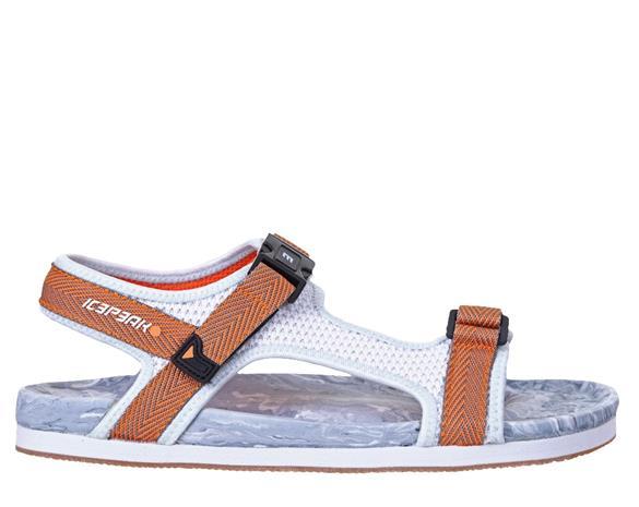 Icepeak naisten sandaalit ARAL, valkoinen-ruskea 39