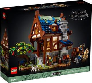 Lego Ideas 21325, Keskiaikainen sepän paja