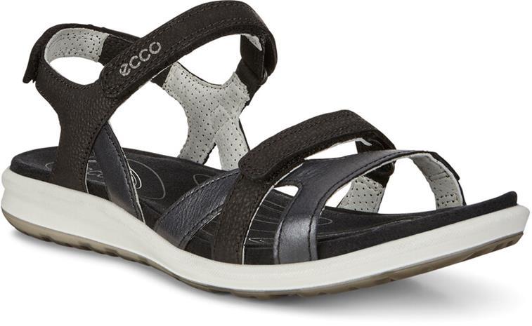 ECCO Cruise II Sandaalit Naiset, black/black