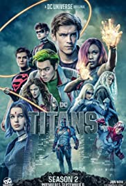 Titans: Kausi 2 (Blu-Ray), TV-sarja